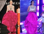 Sonam Kapoor In Naeem Khan - Miss India 2012 Pageant