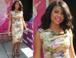 Taraji P. Henson In Black Halo -  The Wendy Williams Show