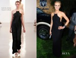 Taylor Schilling In Calvin Klein - 'The Lucky One' LA Premiere