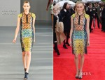 Taylor Schilling In Peter Pilotto - 'The Lucky One' London Premiere