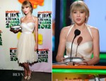 Taylor Swift In Maria Lucia Hohan - 2012 Nickelodeon Kids' Choice Awards