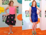 Willow Shields In Marc by Marc Jacobs & Jacqueline Emerson In Alice + Olivia - 2012 Nickelodeon Kids' Choice Awards