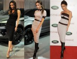 Victoria Beckham Launches The Special Edition Range Rover Evoque