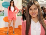 Victoria Justice In Elizabeth and James - 2012 Nickelodeon Kids' Choice Awards
