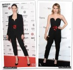 Who Wore YSL Better? Rebecca Hall or Emma Roberts