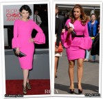 Who Wore Roksanda Ilincic Better? Ginnifer Goodwin or Coleen Rooney