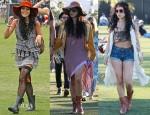 Vanessa Hudgens @ Coachella Music Festival