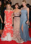 Brooklyn Decker, Rashida Jones and Tory Burch In Tory Burch - 2012 Met Gala