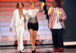 Jennifer Lopez In Reem Acra - 'American Idol' Top 4 Live Performance Show