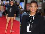 Alesha Dixon In H&M - 'Ill Manors' London Premiere