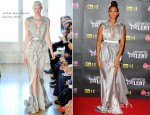 Alesha Dixon In Julien MacDonald - Britain's Got Talent Pre-Final Party