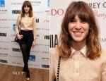 Alexa Chung In Carven - 'Virginia' New York Screening