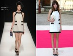 Alexa Chung In Moschino - Royal Academy Summer Exhibition 2012