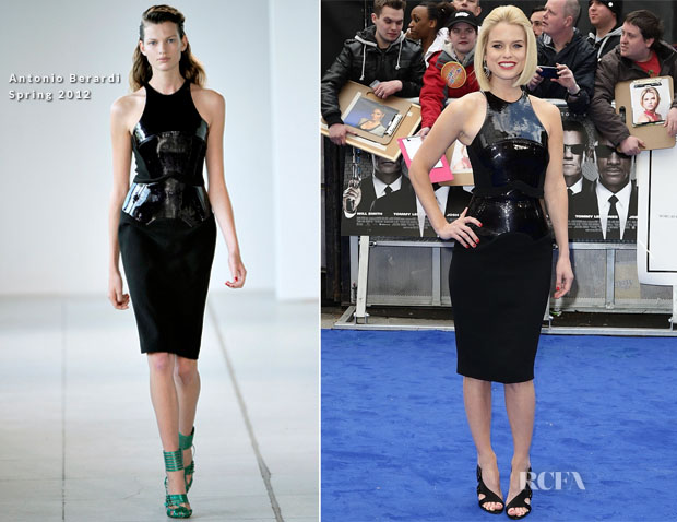 Alice Eve In Antonio Berardi - 'Men In Black 3' London Premiere
