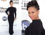 Alicia Keys In Azzedine Alaia - 2012 Billboard Music Awards