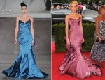 Amber Heard In Zac Posen - 2012 Met Gala
