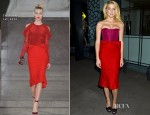 Amber Heard In Zac Posen - 'The Conversation' Series Launch Celebration