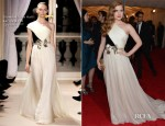 Amy Adams In Giambattista Valli Couture - 2012 Met Gala