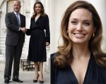 Angelina Jolie In L'Agence - 'In The Land of Blood and Honey' London Screening