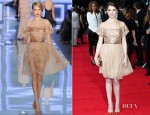 Anna Kendrick In Christian Dior - 'What To Expect When You're Expecting' London Premiere