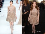 Anna Kendrick In Elie Saab Couture - 'What To Expect When You're Expecting' LA Premiere