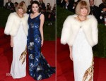 Anna Wintour In Prada & Bee Shaffer In Erdem - 2012 Met Gala