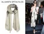 Anne Hathaway's All Saints Dreamcatcher Scarf