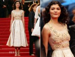 Audrey Tautou In Prada - 'Therese Desqueyroux' Cannes Film Festival Premiere & Closing Ceremony