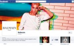 Balmain Launches Facebook & Twitter Accounts