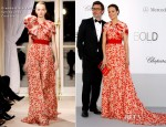 Bérénice Bejo In Giambattista Valli Couture - amfAR's Cinema Against AIDS Gala 2012