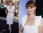 Bella Heathcote In Chanel - 'Dark Shadows' LA Premiere