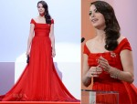Bérénice Béjo In Louis Vuitton - 2012 Cannes Film Festival Opening Ceremony