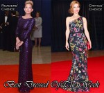 Best Dressed Of The Week - Kate Hudson In Jenny Packham & Leslie Mann In Naeem Khan