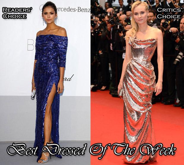 Best Dressed Of The Week Nina Dobrev In Elie Saab