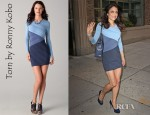 Bethenny Frankel's Torn by Ronny Kobo Tara Pleated Dress