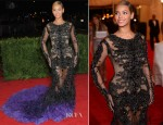 Beyonce Knowles In Givenchy Couture - 2012 Met Gala
