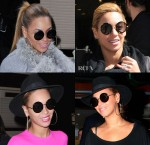 Beyonce Knowles Loves Her The Row for Linda Farrow Sunglasses