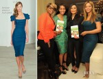 Beyonce Knowles In Roland Mouret - 'The Thriving Child' Book Launch