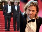 Brad Pitt In Balenciaga - 'Killing Them Softly' Cannes Film Festival Premiere