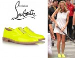 Brooklyn Decker's Christian Louboutin Havana Patent Leather Brogues