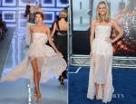 Brooklyn Decker In Christian Dior -  'Battleship' LA Premiere