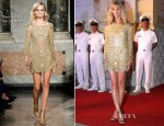 Brooklyn Decker In Emilio Pucci - 'Battleship' Cartagena Premiere