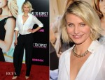 Cameron Diaz In Stella McCartney - 'What To Expect When You're Expecting' New York Premiere