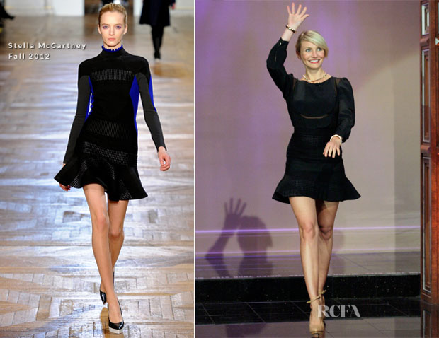 Cameron Diaz In Stella McCartney Jay Leno