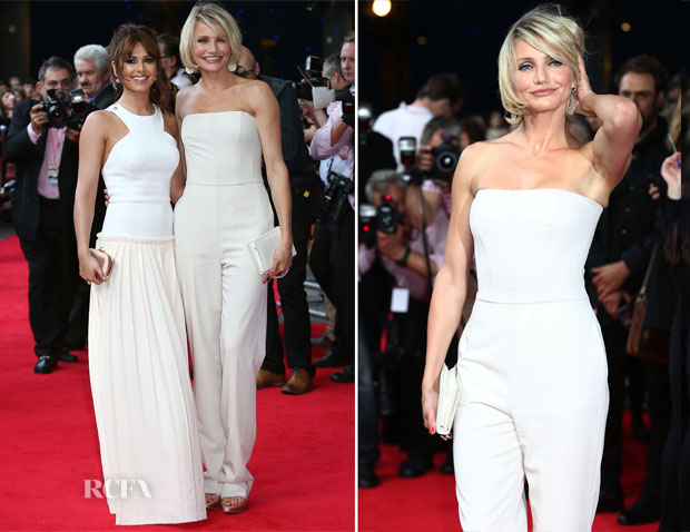 Cameron Diaz In Stella McCartney - 'What To Expect When You're Expecting' London Premiere