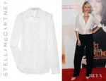 Cameron Diaz' Stella McCartney Cotton Bib Front Shirt