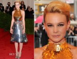 Carey Mulligan In Prada - 2012 Met Gala