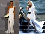 Carrie Underwood In Theia - 'American Idol' Top 5 to 4 Live Elimination Show