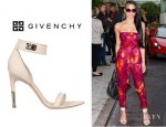 Cassie's Givenchy Nappa And Suede Sandals