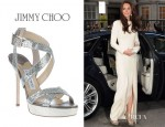 Catherine, Duchess of Cambridge's Jimmy Choo Vamp Sandals